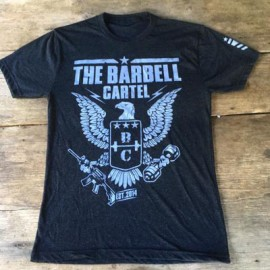 "THE BARBELL CARTEL - T-shirt Homme ""EAGLE"""