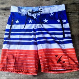"THE BARBELL CARTEL - Short Homme ""AMERICAN FLAG"""